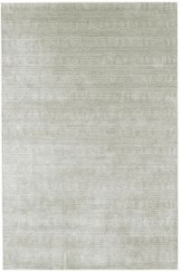 Darcy Silver Striped Rug by Katherine Carnaby
