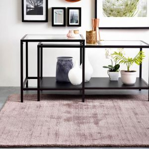 Delano Rose Plain Rug by Origins