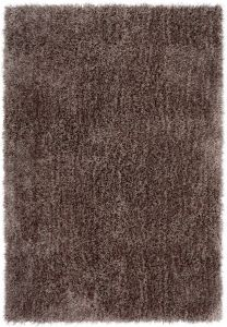 Diva Taupe Shiny Polyester Rug by Asiatic