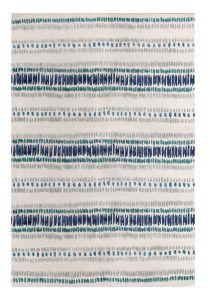Draxon Indigo Handtufted Wool Rug by William Yeoward