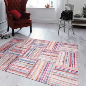 Easy Care Pastello Multi Rug by Floorita