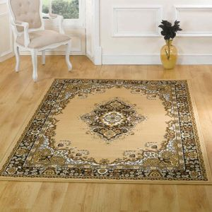 Element Prime Lancaster Beige Rug by Flair Rugs