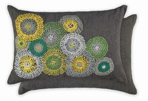 Eliana Slate WYC04721X Cushion by William Yeoward