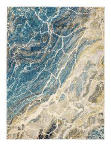 Elssa ELS08 Seafoam Abstract Rug by Concept Looms