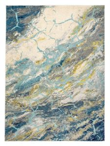 Elssa ELS18 Grey Multi Abstract Rug by Concept Looms