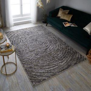Eris Ursa Gold Modern Rug by Flair Rugs