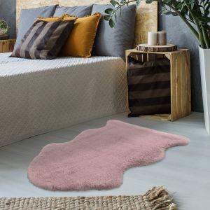Estonia Kunda Powder Pink Abstract Rug by Kayoom