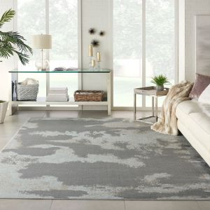 Etchings ETC03 Grey Rug by Nourison