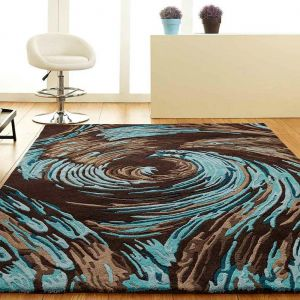Evolution Abstract Design Unique Rug by Prestige