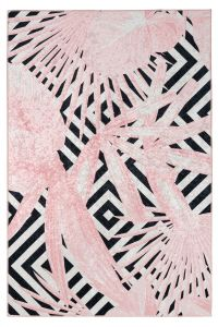 Exotic EXO 214 Powder Pink Rug by Obsession