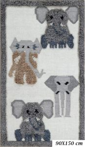 Fantasia Elephant Wool Rug by Oriental Weavers