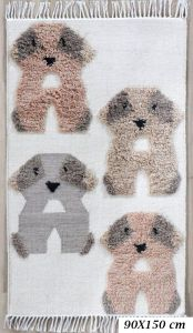 Fantasia Puppy Wool Rug by Oriental Weavers
