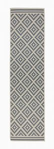 Florence Alfresco Moretti Beige/Anthracite Runner by Flair Rugs