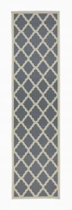 Florence Alfresco Padua Beige/Anthracite Runner by Flair Rugs