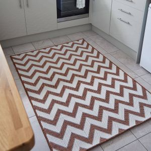 Florence Alfresco Trieste Terracotta Rug by Flair Rugs