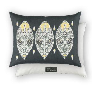 Flores Slate WYC00153X Cushion by William Yeoward