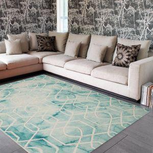 Fresco Aqua Rug By Asiatic