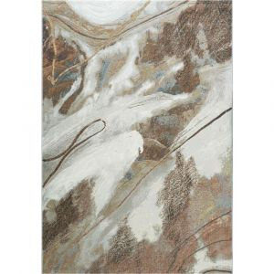 Galleria 063-05297270 Contemporary Beige Abstract Rug by Mastercraft