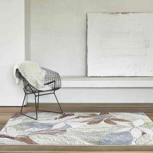 Galleria 063-07275240 White Contemporary Nature Rug by Mastercraft