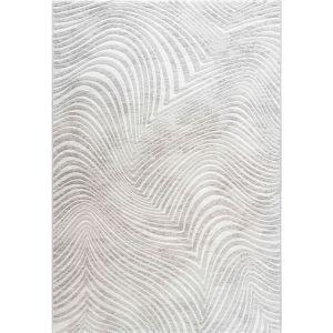 Galleria 063-07387565 Cream Contemporary Abstract Rug by Mastercraft