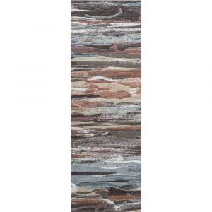 Galleria 063-07423230 Multi Contemporary Abstract Runner by Mastercraft