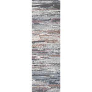 Galleria 063-07423747 Cream Multi Contemporary Abstract Runner by Mastercraft