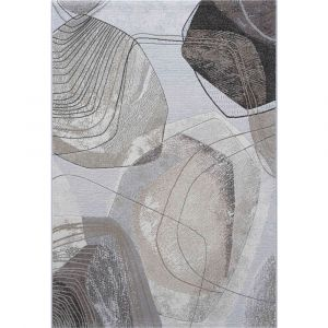 Galleria 063-07636282 Beige Contemporary Abstract Rug by Mastercraft