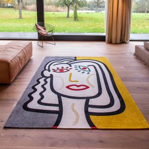 Gallery Dora 9143 Dorado Flatweave Rug by Louis De Poortere