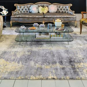 Gatsby Gold Rug by Asiatic