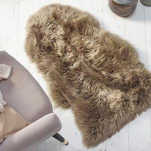 Genuine Sheepskin Khaki Rug by Origins