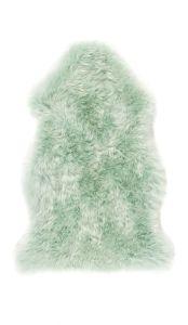 Genuine Sheepskin Mint Rug by Origins