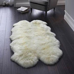 Genuine Sheepskin Natural Rug by Origins