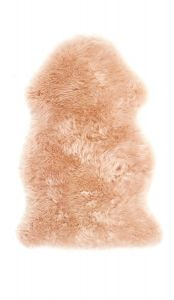 Genuine Sheepskin Peach Rug by Origins