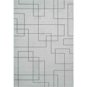 Geo 041-00292131 Grey Contemporary Geometric Rug by Mastercraft