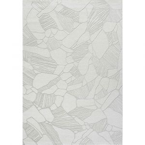 Geo 041-00306161 Cream Contemporary Abstract Rug by Mastercraft