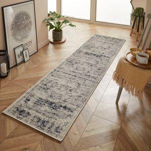 Gilbert 2061 N Grey Cream Traditional Runner by Oriental Weavers