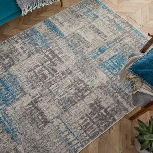 Gilbert 4152 E Grey Blue Rug by Oriental Weavers