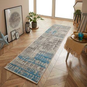 Gilbert 4152 E Grey Blue Runner by Oriental Weavers