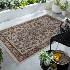 Gioradano Brown Traditional Rug by Flair Rugs
