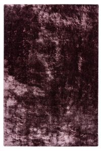 Glossy GLO 795 Mauve Plain Shaggy Rug by Obsession