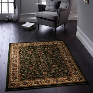 Gracie Green Polypropylene Traditional Rug by Origins