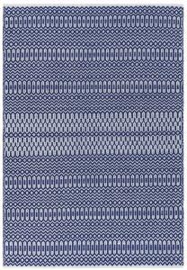 Halsey Blue Geometric Rug by Asiatic