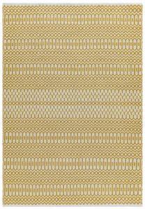 Halsey Mustard Geometric Rug by Asiatic