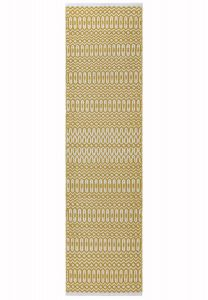 Halsey Mustard Geometric Runner by Asiatic