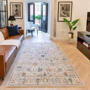 Heritage HRTG103 Ivory Multi Traditional Rug by Concept Looms