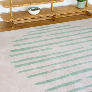 Island Leaf Handtufted Wool Rug by Clair1e Gaudion
