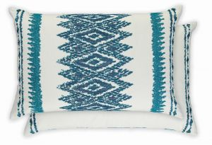 Kaimana Indigo WYC04706X Cushion by William Yeoward