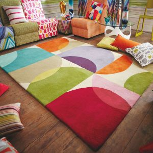 Kaleido 26000 Pop Hand Tufted Wool Rug by Scion