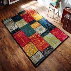 Kaleidoscope 9Z Trendy Orange Rug By Oriental Weavers