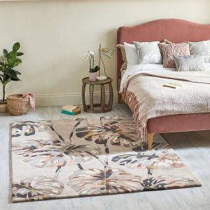 Kelapa 040301 Blush Handtufted wool Rug by Harlequin